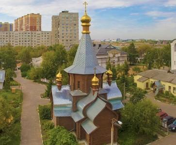 Иверский храм-крестильня