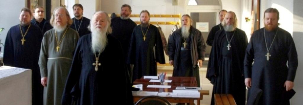 Собрание духовенства Жуковского благочиния