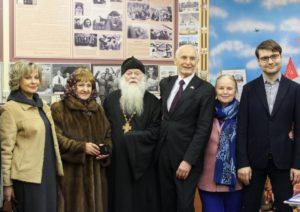 Василий Лановой на приходе Пантелеимона г.Жуковский