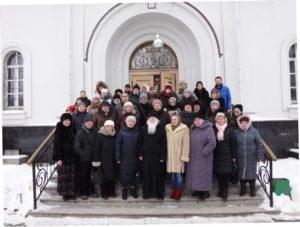 Панетлеимоновский приход, паломники от московской туристической фирмы «Вокруг света»