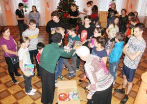 благотворительная акция на Рождество Христово Пантелеимоновский храм