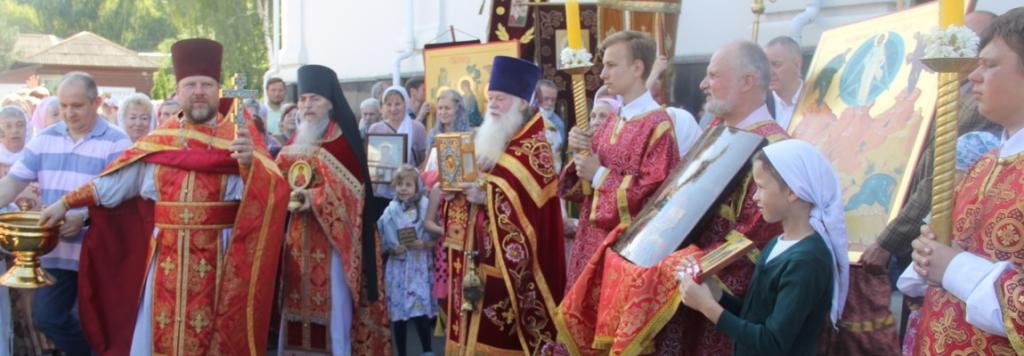 Престольный праздник на приходе Пантелеимоновского храма