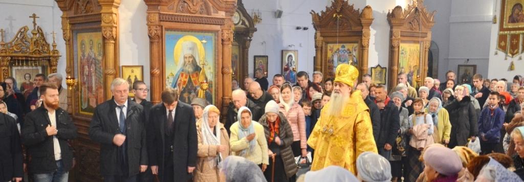 Епископ Серпуховской Роман посетил Жуковское благочиние