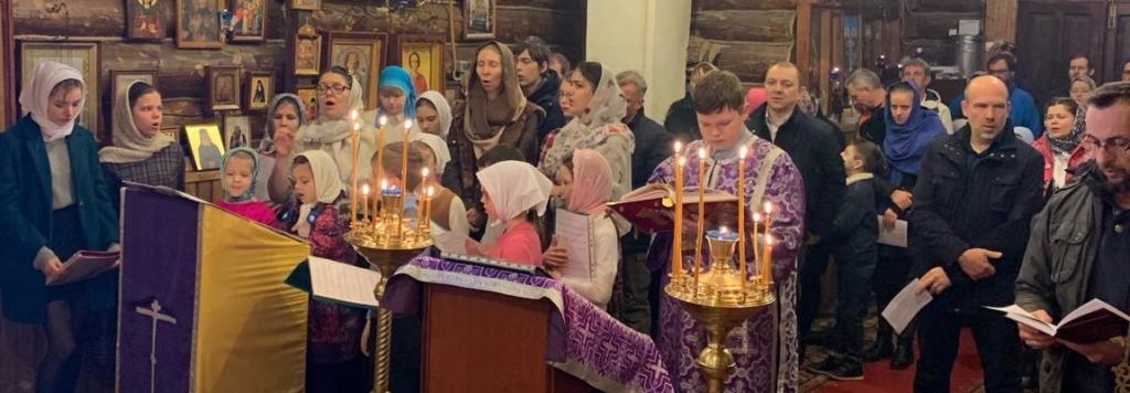 Дети на литургии