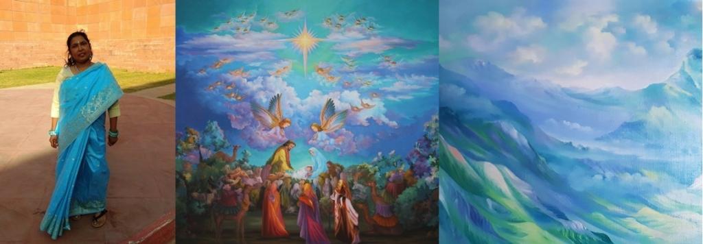 На Пантелеимоновском приходе пройдет выставка картин индийской художницы