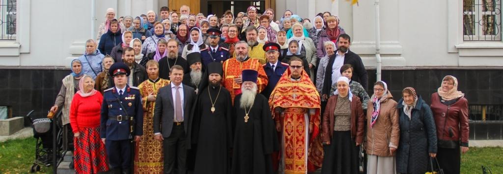 Жуковское благочиние посетил епископ Луховицкий Петр