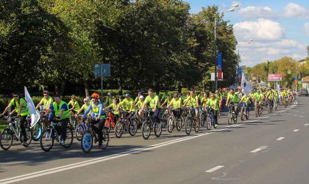 """городской велопробег """"За трезвый образ жизни"""" г.Жуковский"""