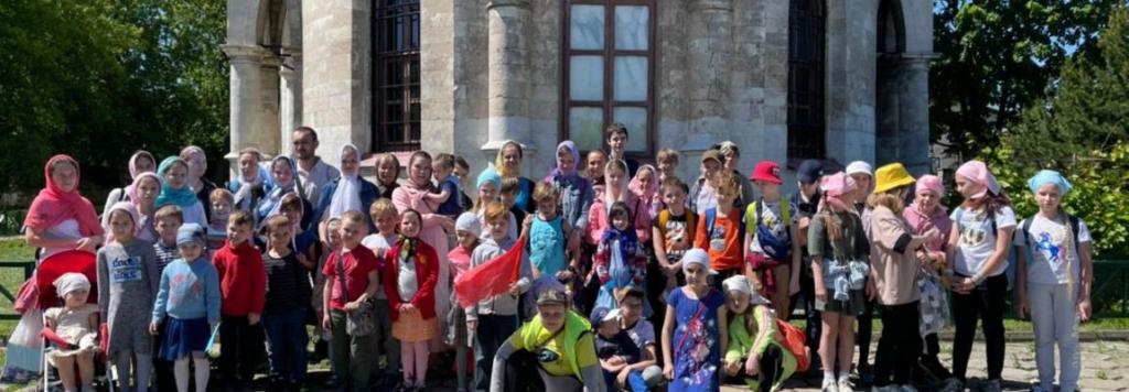Летняя смена в детской воскресной школе «Благовест»