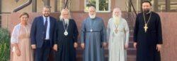 Митрополит Крутицкий и Коломенский Павел посетил Елисаветинский филиал больницы имени святителя Алексия в г. Жуковский.