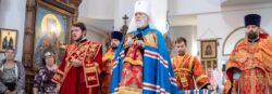 Митрополит Крутицкий и Коломенский Павел день святого великомученика и целителя Пантелеимона Жуковский